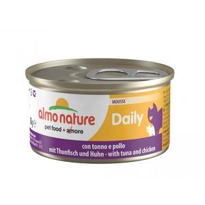 Boîte Chat - Daily Menu Mousse Thon / Poulet 85g Almo Nature® 234542