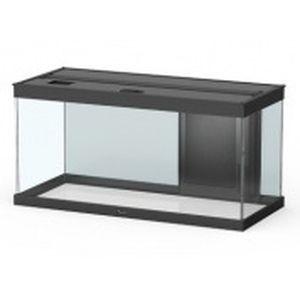 Aquarium style LED 80 avec contours noirs 80 x 40 x 35 cm 246034