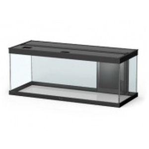 Aquarium style LED avec contours noirs 100 x 40 x 40 cm 246038