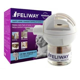 Feliway Diffuseur apaisant pour chat + recharge  250896
