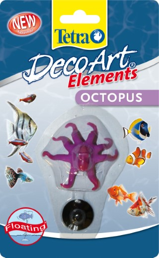 Décoration - DecoArt Tetra pieuvre 257695