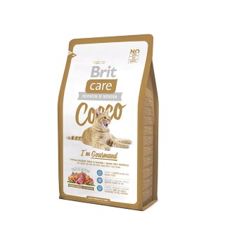 Croquettes chat - Brit Care Cat Cocco I'm gourmand -2kg 280988
