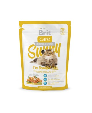 Croquettes Chat - Brit Care Cat Sunny I've Beautiful Hair 0,4kg 281298