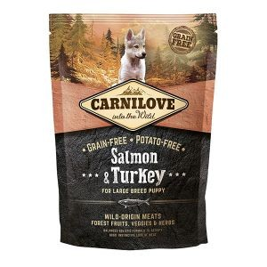 Croquettes Chiot Large - Carnilove Salmon & Turkey 1,5kg 281339
