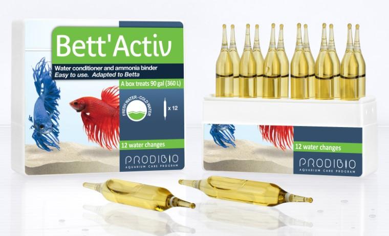 Traitement de l'eau - Prodibio Bett'activ - 12 ampoules 200733
