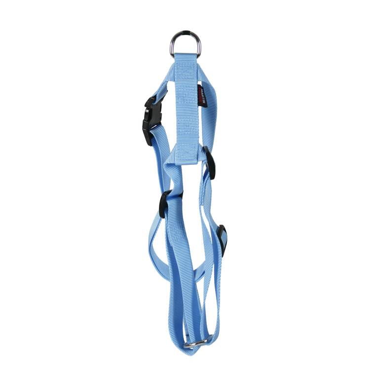 Harnais Nylon Uni pour chat coloris bleu 210811