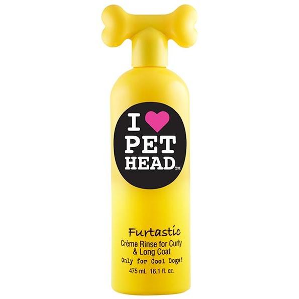 Crème de rinçage pour chien à poils longs Furtastic Pethead 210910