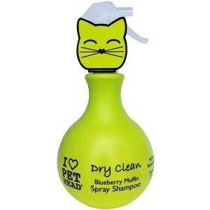 Shampooing sec pour chat Dry Clean Pethead spray 450 ml 210916