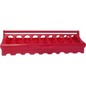 Mangeoire poussin modulable en plastique 30 cm 210943