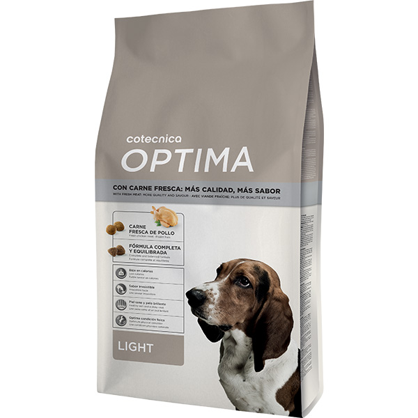 Croquettes chien allégées – Cotecnica Optima Light - 4 kg 218048