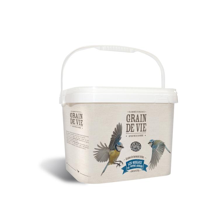 Seau graines de tournesol pour oiseaux 222163