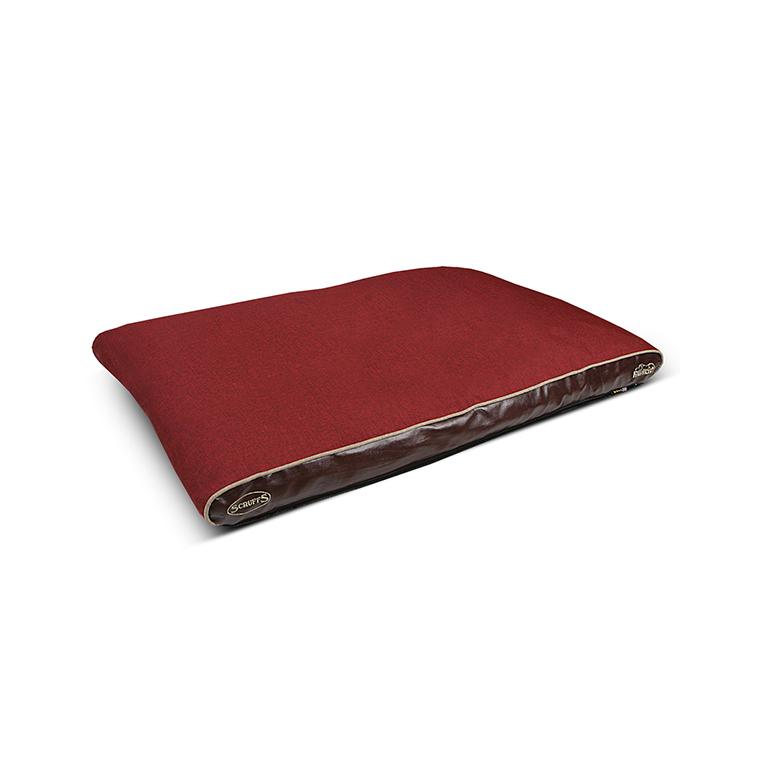 Coussin orthopédique Scruffs Hilton Rouge - Taille 100 x 70 x 6 cm 224772