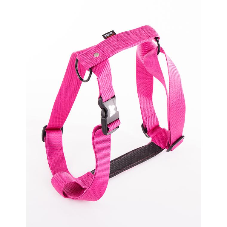 Harnais Confort rose pour chien - 4x90/110 cm 231988