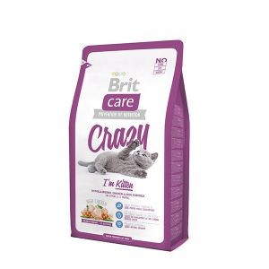 Croquettes chaton - Brit Care Cat Crazy I'm Kitten - 2kg 234346