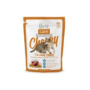 Croquettes Chat - Brit Care Cat Cheeky I'm Living Outdoor 0,4kg 234355