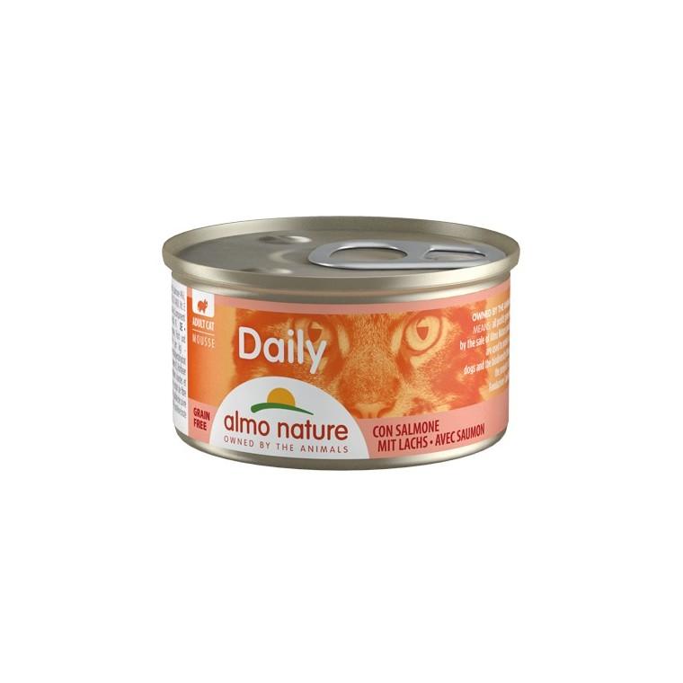 Boîte Chat - Daily Menu Mousse Saumon 85g Almo Nature® 234539