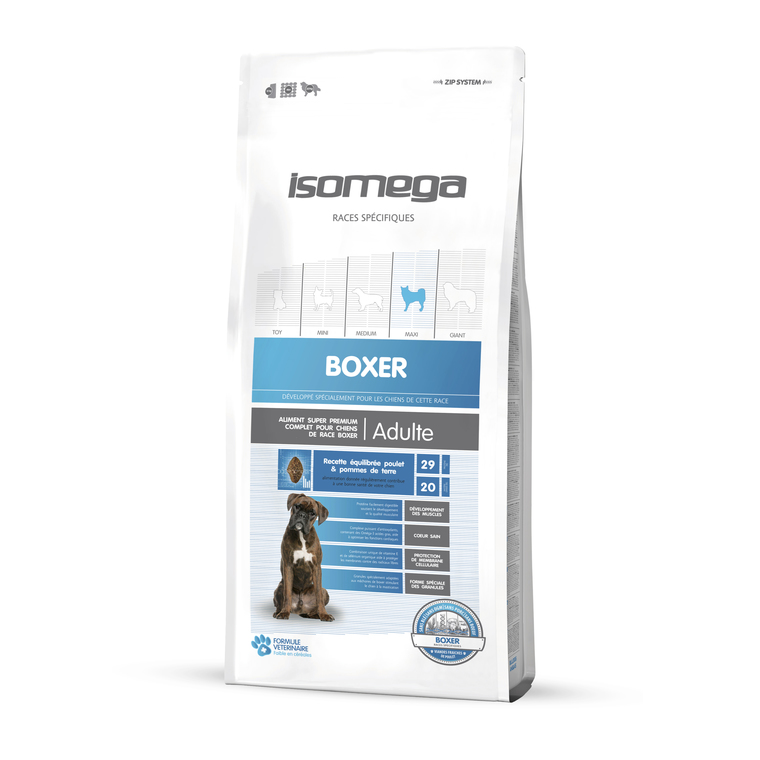 Croquettes Chien adulte - Isomega Boxer - 12 kg 235044