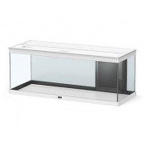Aquarium style LED avec contours blancs 100 x 40 x 40 cm 246039