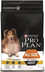 Croquette Chien - Proplan Adulte All size light/sterilised 14kg 257622