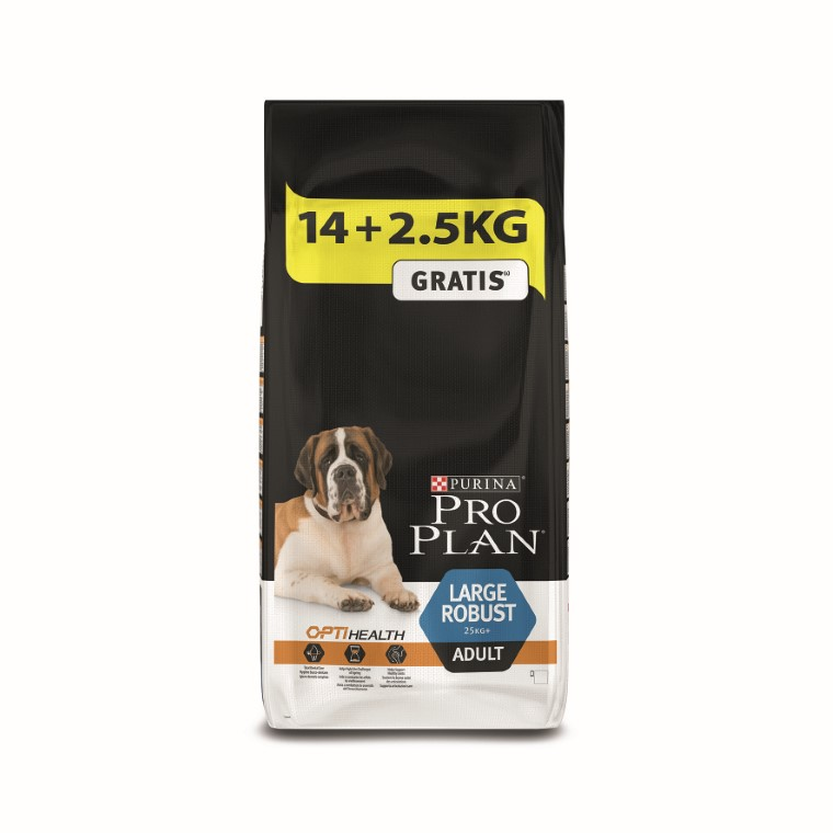Croquette Chien - Proplan Adulte Large Robust 14kg + 2,5Kg Offert 257630
