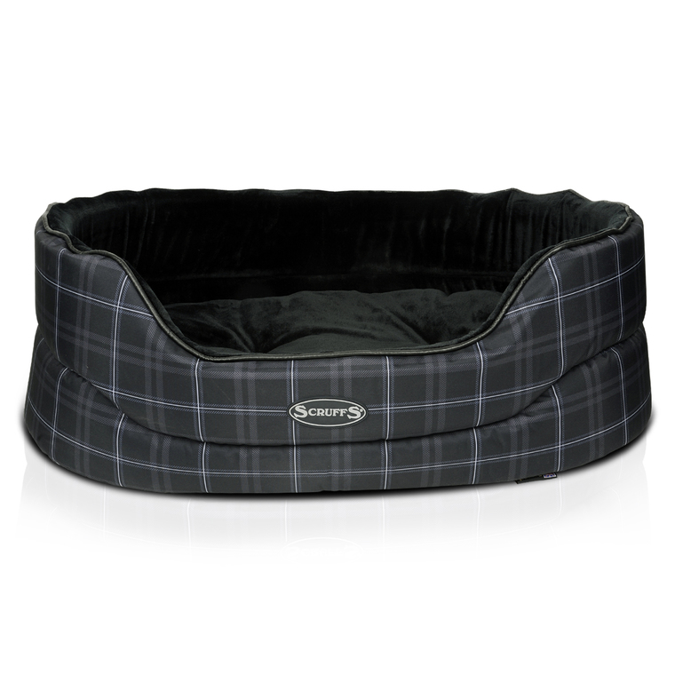 Corbeille Scruffs Balmoral Noir Taille XL - 93 x 60 cm 257658