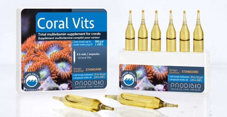 Traitement de l'eau - Prodibio Coral vits - 6 ampoules 260332