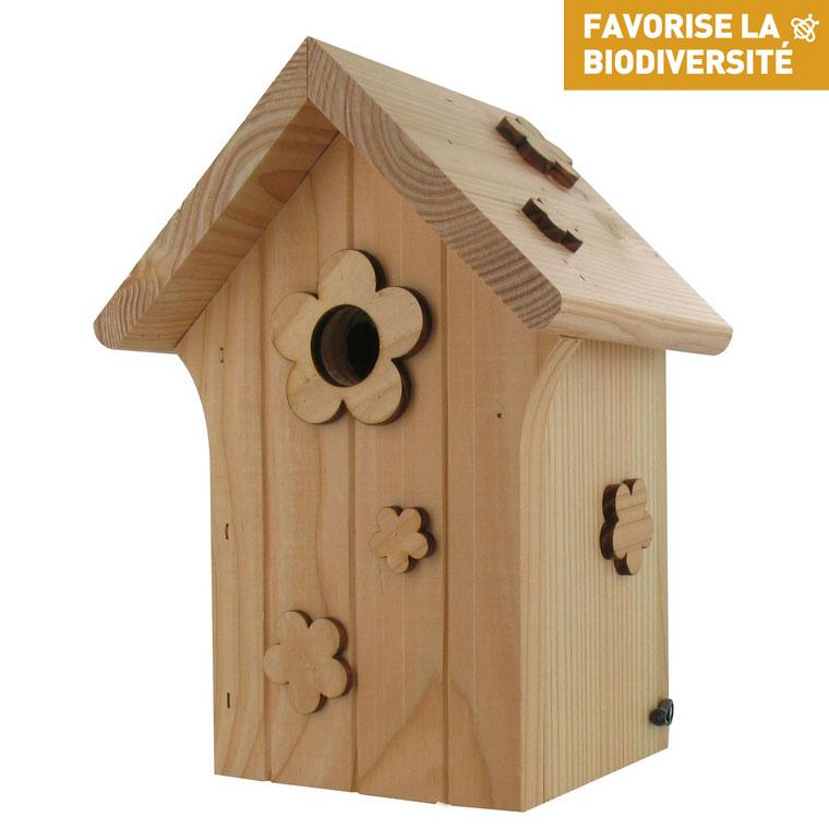 Nichoir en bois Le Poupon 280507