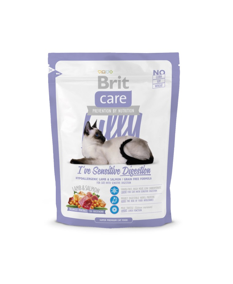 Croquettes Chat - Brit Care Cat Lilly I've sensitive digestion 0,4kg 280842
