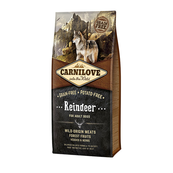 Croquettes Chien Adulte - Carnilove Reindeer - 12kg 280994