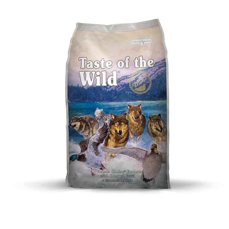 Croquettes chien - Taste of the Wild Wetlands Wild - 13kg 281311