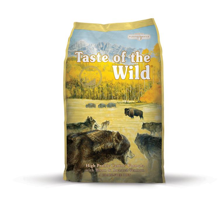 Croquettes chien - Taste of the Wild High Prairie - 6kg 281317