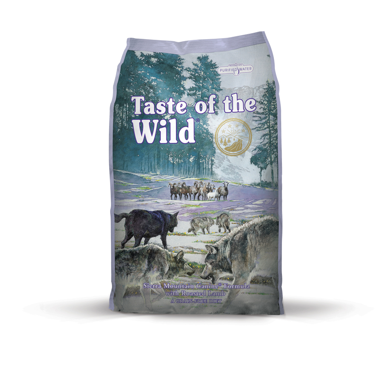 Croquettes chien - Taste of the Wild Sierra Mountain Canine - 6kg 281320