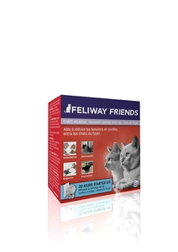 Feliway Friends Diffuseur anti conflit pour chat + recharge  294194