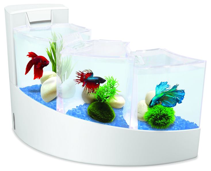 Aquarium Aqua Falls White 295674
