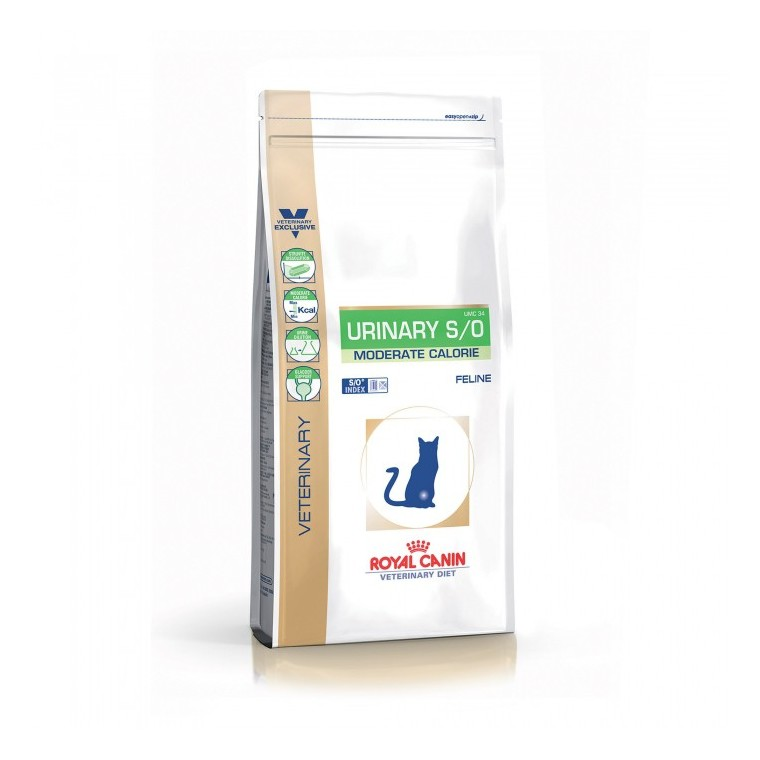 Croquettes VDiet Cat urinary s/o moderate calorie 3,5kg