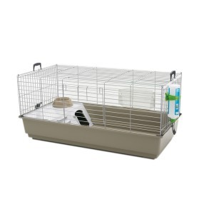 Cage lapin - cobaye Nero 3 de luxe Lounge Savic 100x50x47cm