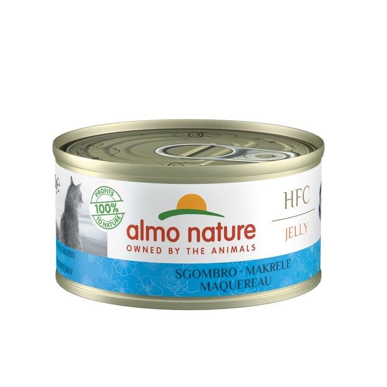 Boîte Chat – Almo Nature HFC Jelly Maquereau 70 gr