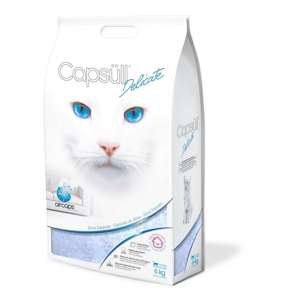 Litière Capsüll Delicate - Baby Powder 6kg