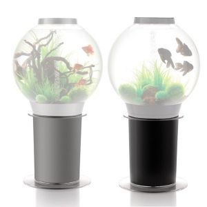 Meuble Stand aquarium BiOrb 105 Noir/Argent