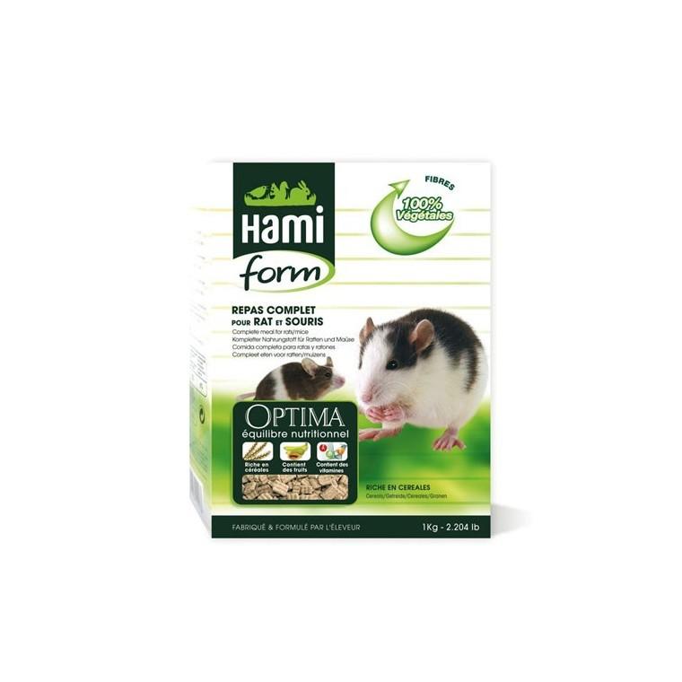Repas complet rat et souris Hamiform 1kg