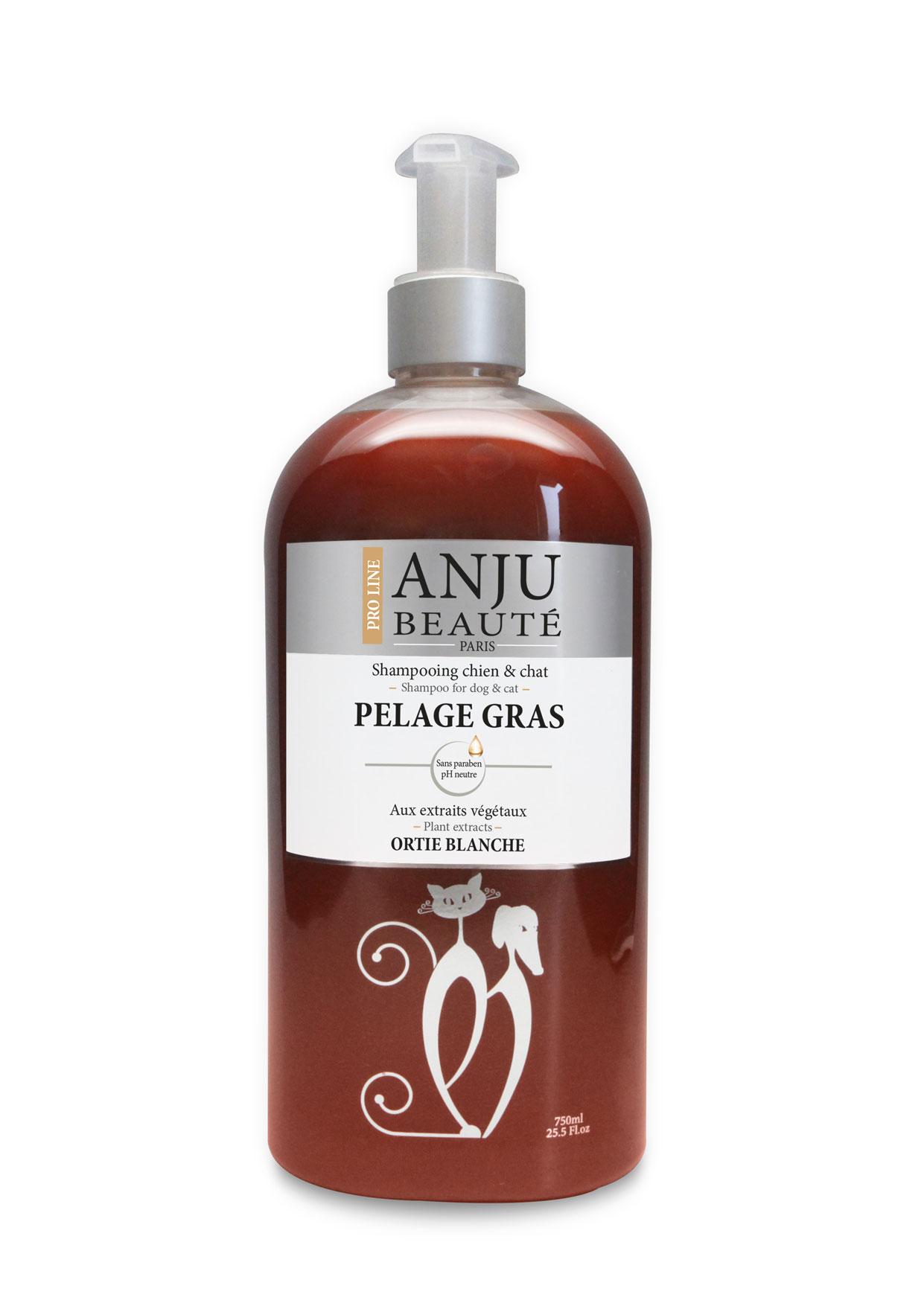 Shampoing ANJU Beauté pelages gras 750 ML