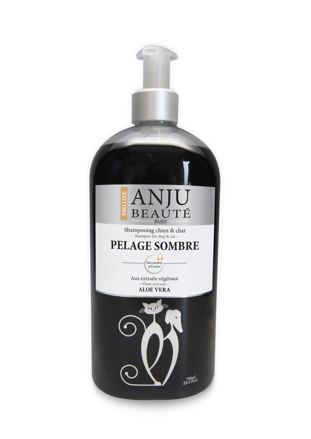 Shampoing ANJU Beauté pelages foncés 750 ML