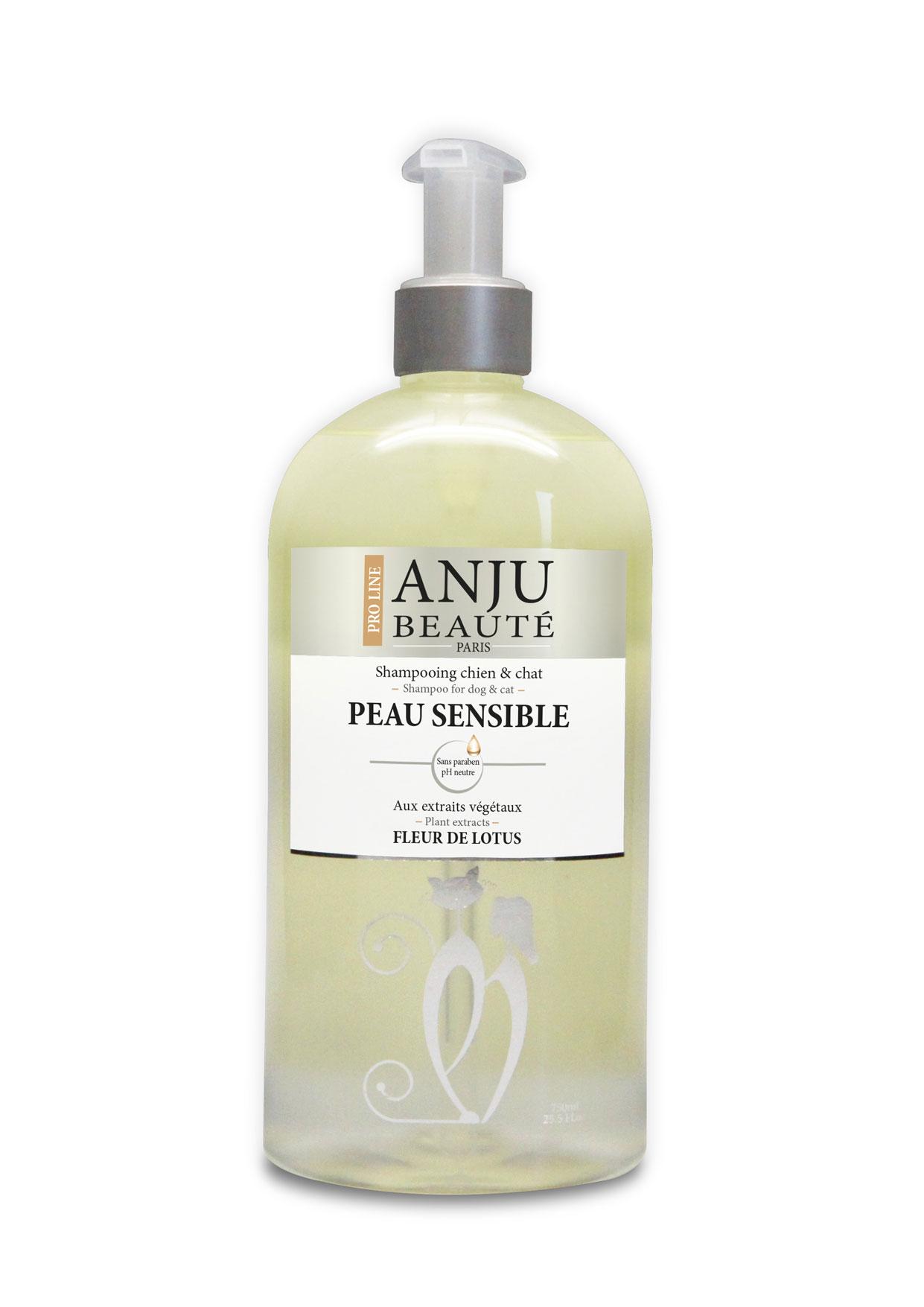 Shampoing ANJU Beauté peau sensible 750 ML