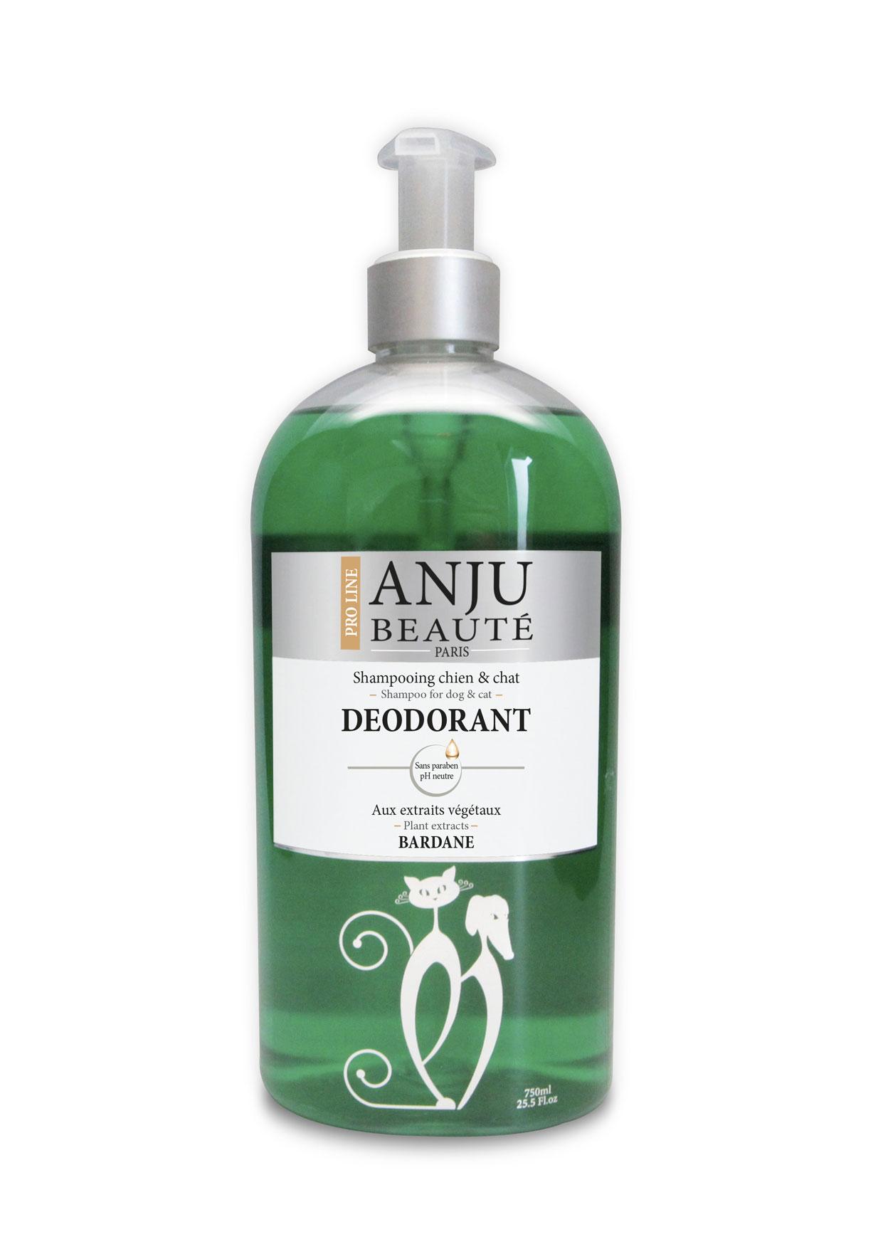 Shampoing ANJU Beauté déodorant 750 ML