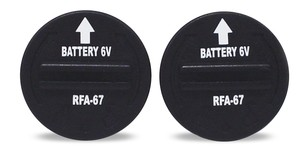 Lot 2 piles lithium 6 volts RFA-67 303525