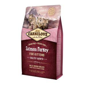 Croquettes chaton - Carnilove Salmon & Turkey - 2kg 310362
