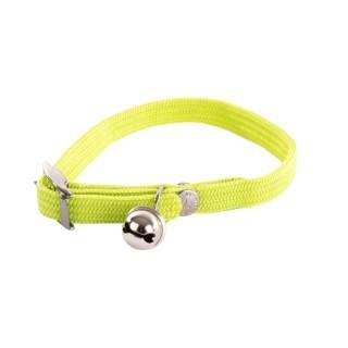 Collier élastique pour chat vert 323792
