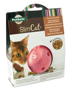 Balle distributrice Slimcat rose 326285