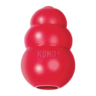 Jouet chien Kong classic extralarge rouge 13cm 33500
