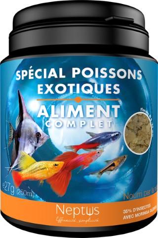 Alim spécial poissons exotiques 250ml 343002